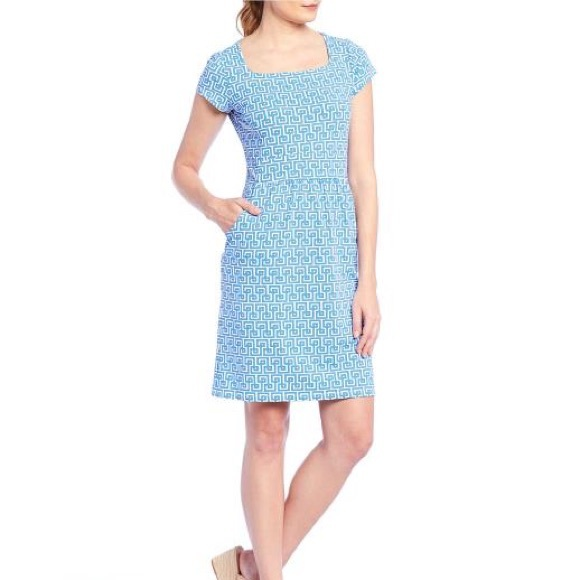 J. Maclaughlin S Emma Mosaic Catalina Cloth Dress